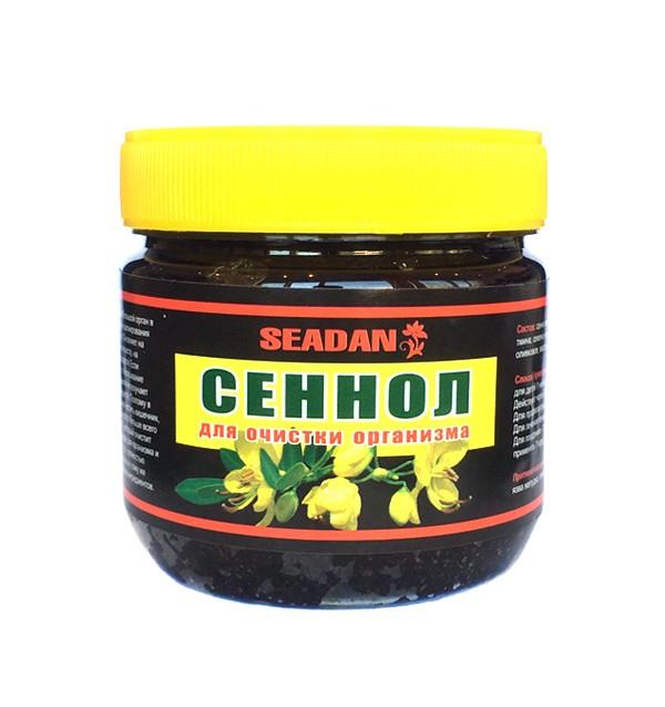 Сеннол для очистки организма, похудения и избавления от паразитов Seadan (250 гр)