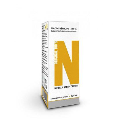 Сирийское нефильтрованное масло черного тмина Nigella Sativa (100 мл), фото 2