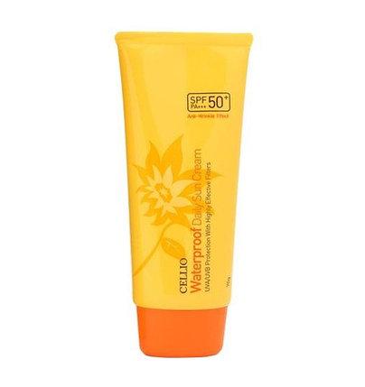 Солнцезащитный водостойкий крем Cellio Waterproof Daily Sun Cream SPF50+/PA++++ (70 мл), фото 2
