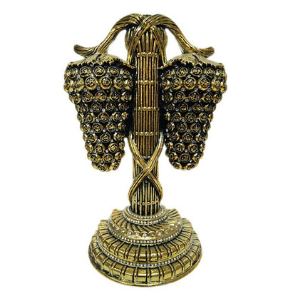 Сувенир «Гроздь ягод» с 99 именами Аллаha (золотистый), фото 2