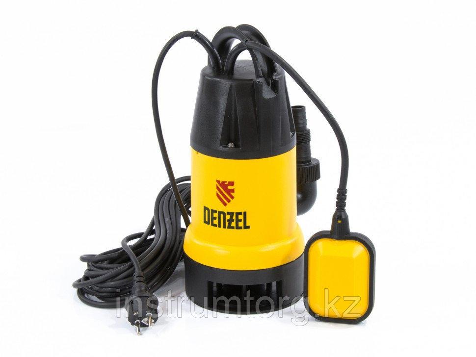 Дренажный насос DP600, 600 Вт, подъем 7 м, 10000 л/ч// Denzel