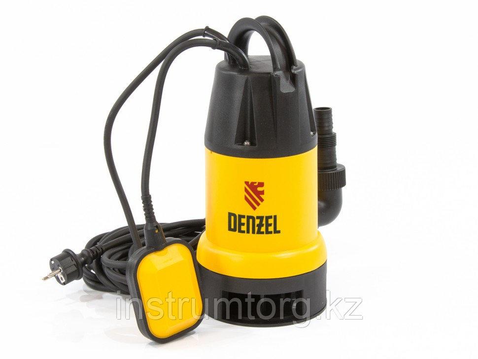 Дренажный насос DP900, 900 Вт, подъем 8,5 м, 14000 л/ч// Denzel