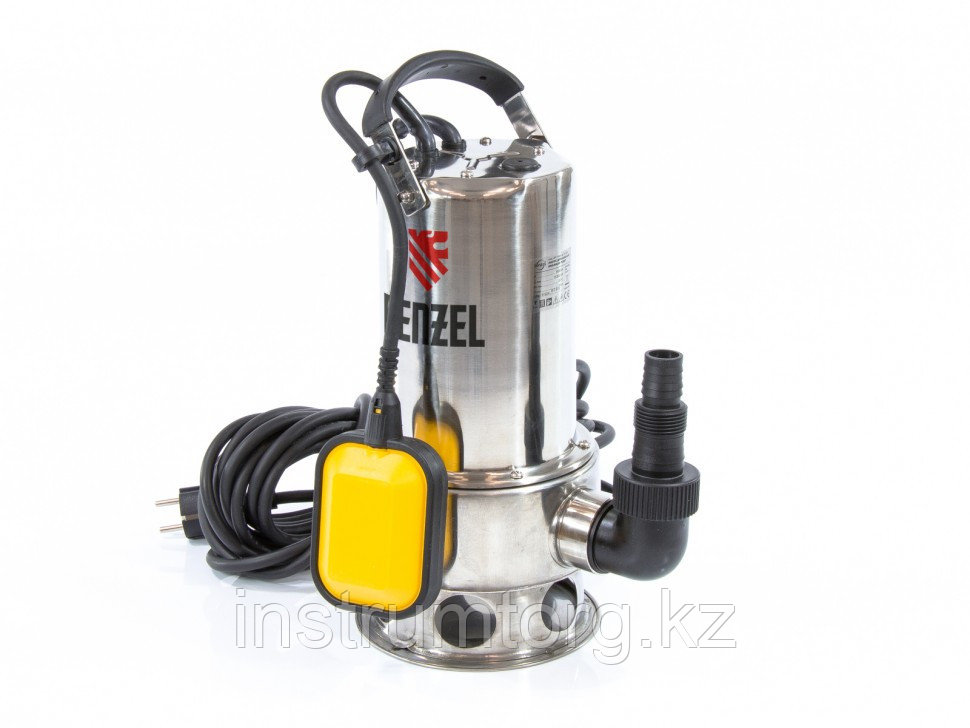 Дренажный насос DP1100X 1100 Вт, подъем 11 м, 15500 л/ч //Denzel