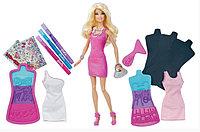 Кукла Барби Модная дизайн-студия Создай свое платье Barbie
