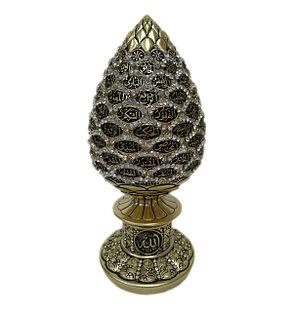 Сувенир с 99 именами Аллаhа (золотистый), фото 2