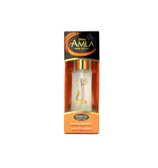 Сыворотка со змеиным жиром Dabur Amla Frizz Control (для вьющихся волос)