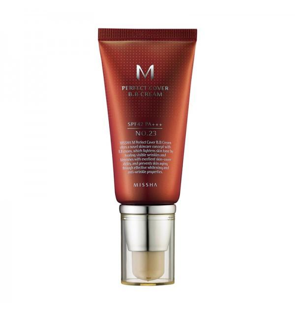 Тональный ББ крем для лица Missha M Perfect Cover BB Cream SPF42/PA+++ №23 (50 мл)