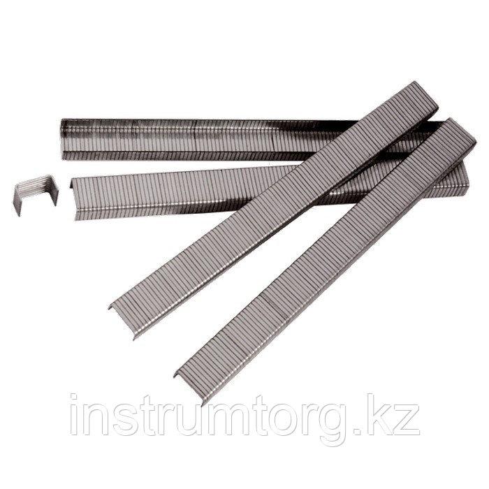 Скобы для пнев. степл., 6 мм, шир. - 1,2 мм, тол. - 0,6 мм, шир. скобы - 11,2 мм, 5000 шт// Matrix