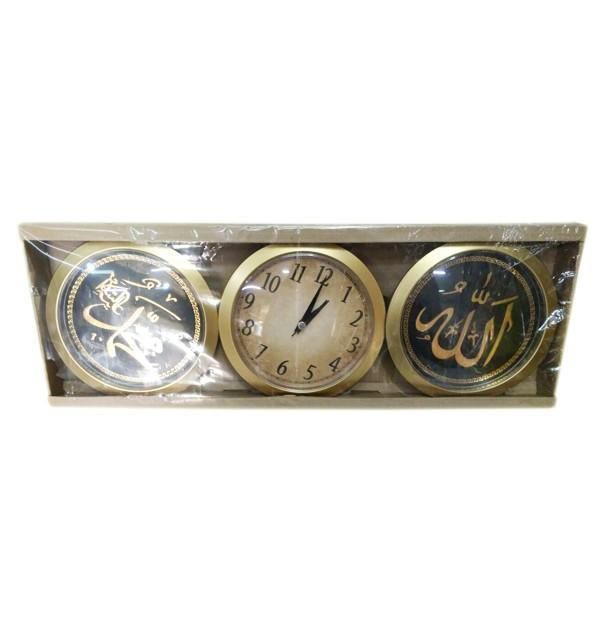 Тройные часы с надписями на арабском