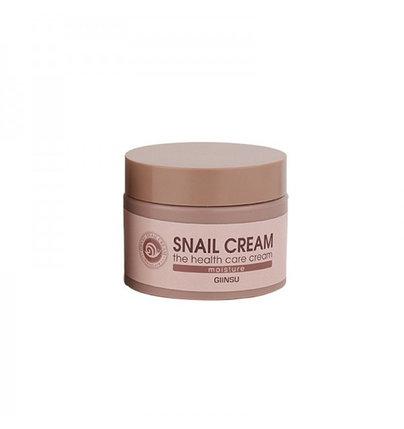 Увлажняющий крем для лица c улиточной слизью Giinsu Moisture Snail Cream (50 г), фото 2