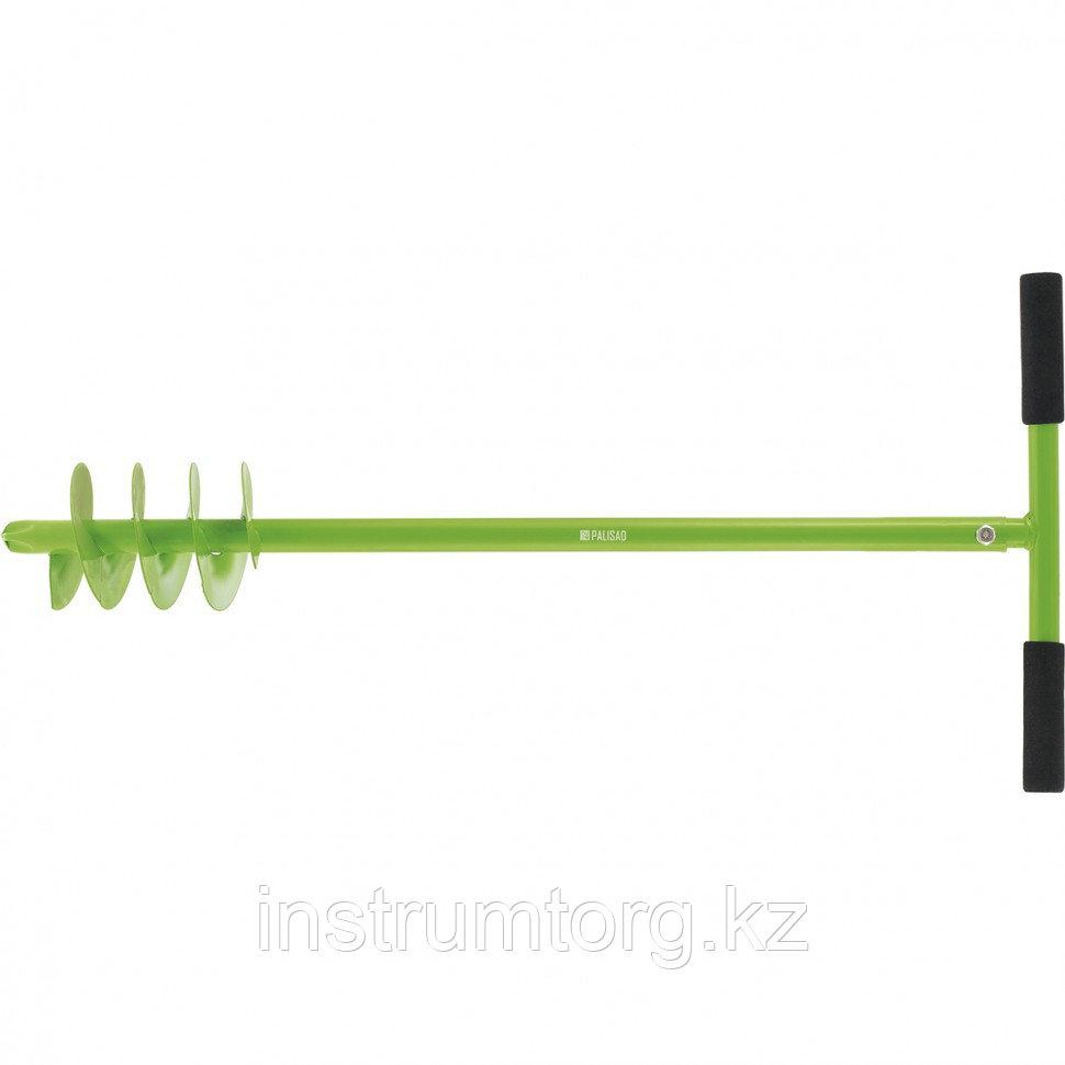 Бур садовый шнековый, 850 мм, диаметр 110 мм// Palisad