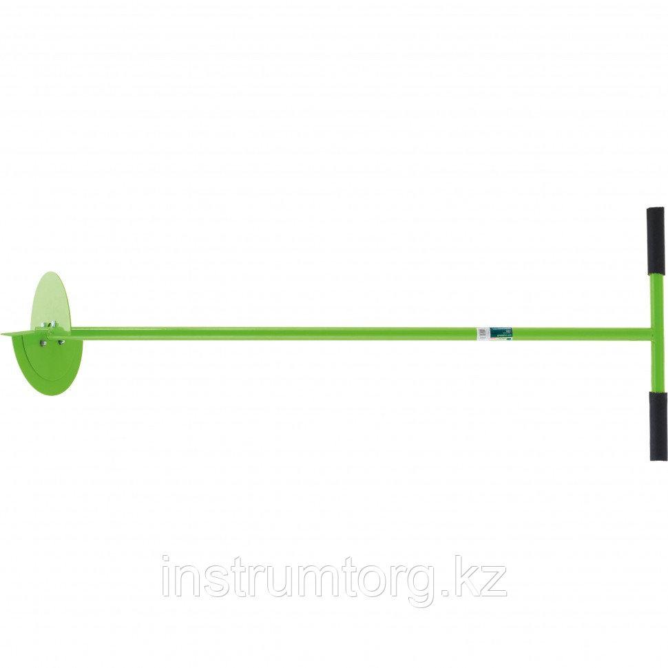 Бур садовый, L 1000 мм, со сменными ножами, D 150 мм, D 200 мм// СИБРТЕХ Россия