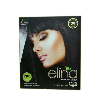 Хна для волос Elina Black Hair Colour (черная), фото 2