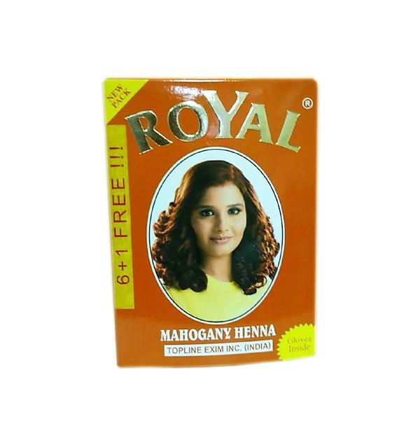 Хна для волос Royal Mahogany Henna (красное дерево)