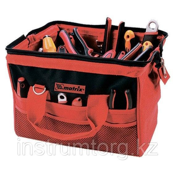 Сумка для инструмента, 18 карманов, 510ммх210ммх360мм// Matrix