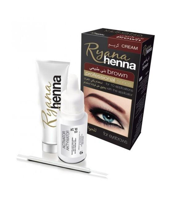 Хна для окрашивания бровей Ryana Henna (brown)