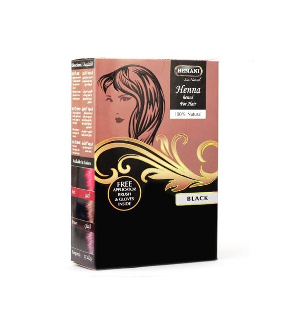 Хна для окрашивания волос Hemani Black
