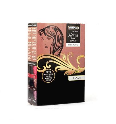 Хна для окрашивания волос Hemani Black, фото 2