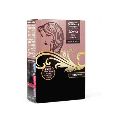Хна для окрашивания волос Hemani Brown, фото 2