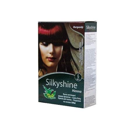 Хна для окрашивания волос Silky Shine (бордовый), фото 2