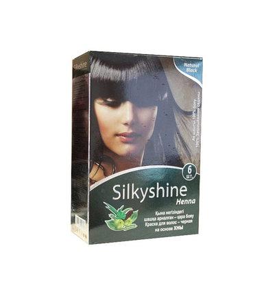 Хна для окрашивания волос Silky Shine (черный), фото 2
