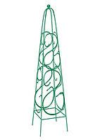 Пирамида садовая декоративная для вьющихся растений, 112,5 х 23 см, квадратная// Palisad