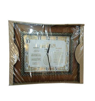 Часы с аятами из Корана квадратные, фото 2