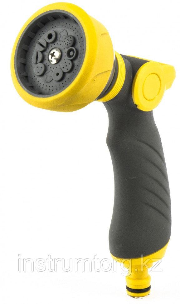 Пистолет-распылитель, регулируемый, эргономичная рукоятка, LUXE// Palisad