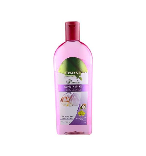 Чесночное масло для волос Hemani Fleur's