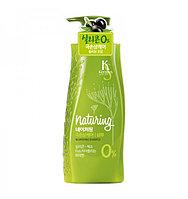 """Шампунь Kerasys Naturing """"Питание"""" с морскими водорослями и оливковым маслом (500 мл)"""