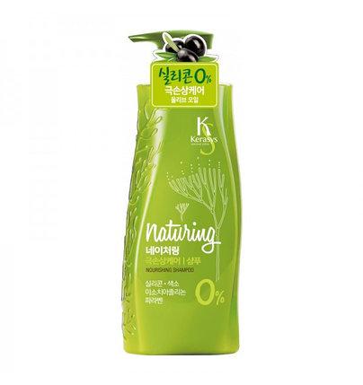 """Шампунь Kerasys Naturing """"Питание"""" с морскими водорослями и оливковым маслом (500 мл), фото 2"""