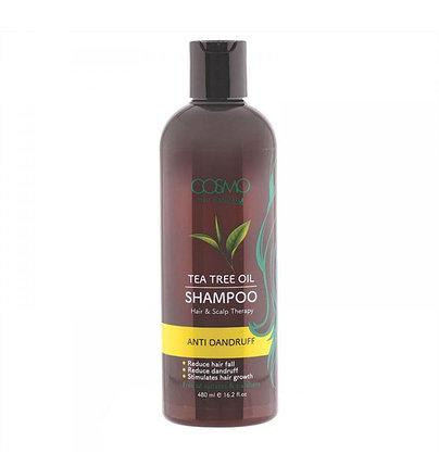 Шампунь от перхоти с маслом чайного дерева Cosmo Tea Tree Oil Shampoo (480 мл), фото 2