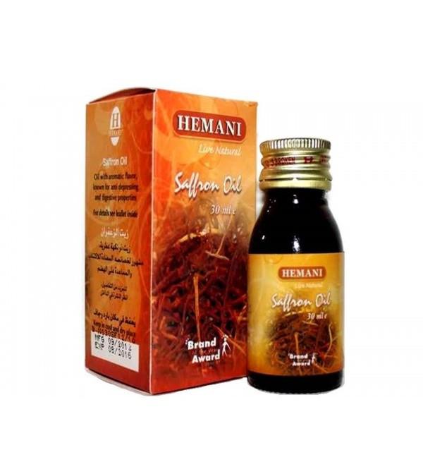 Шафрановое масло Hemani (30 мл)