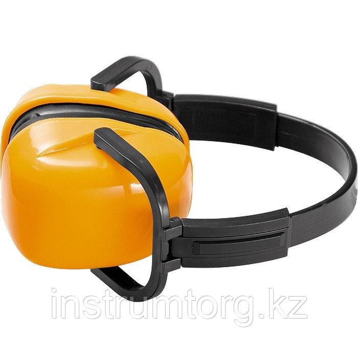 Наушники защитные, складные, пластмассовые дужки// Sparta