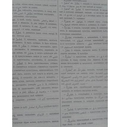 Арабско-русский словарь Х. К. Баранова - 42 000 слов, фото 2