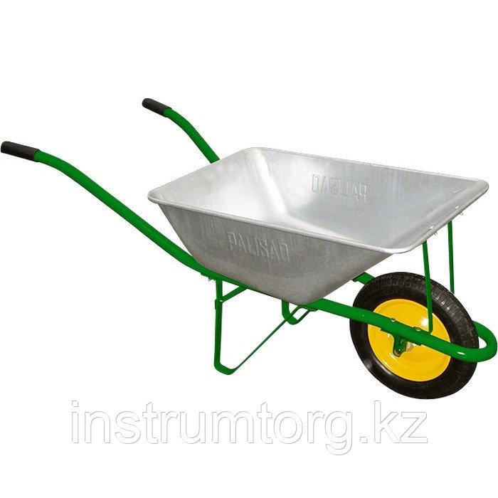 Тачка садовая, грузоподъемность 120 кг, объем 58 л// PALISAD