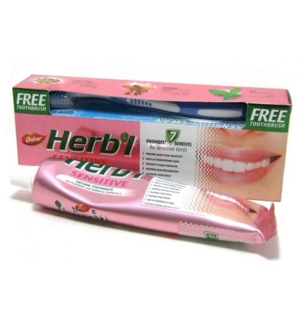 Зубная паста для чувствительных зубов  Dabur Herbal Sensitive