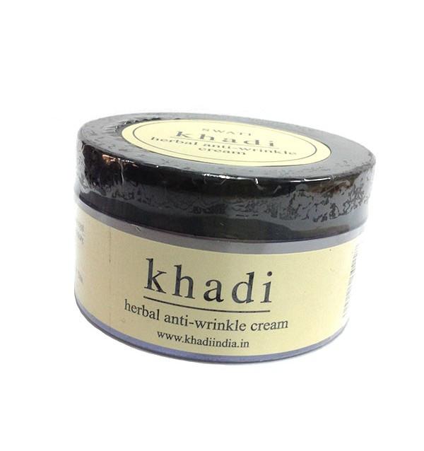 Крем против морщин Khadi Herbal Anti Wrinkle Cream