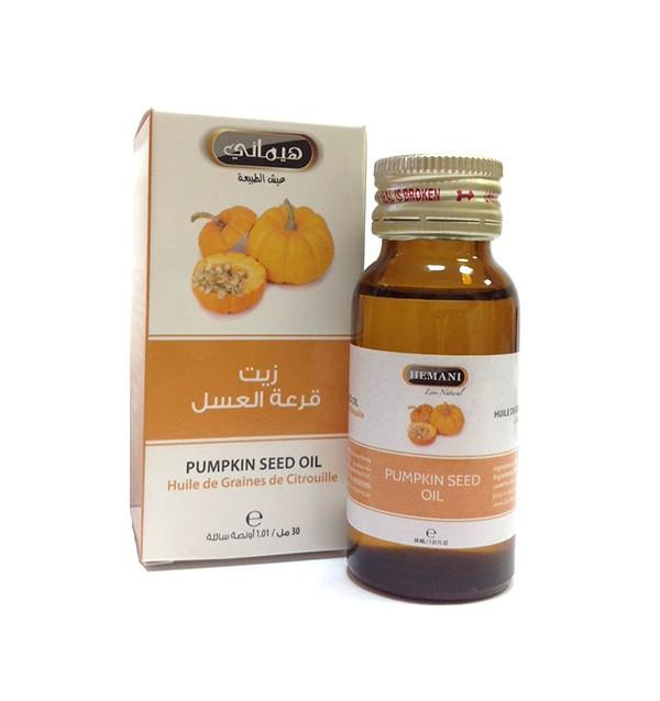Масло тыквы Hemani (30 мл)