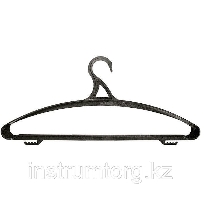 Вешалка пластик. для верхней одежды размер 52-54, 470 мм, Россия// Elfe