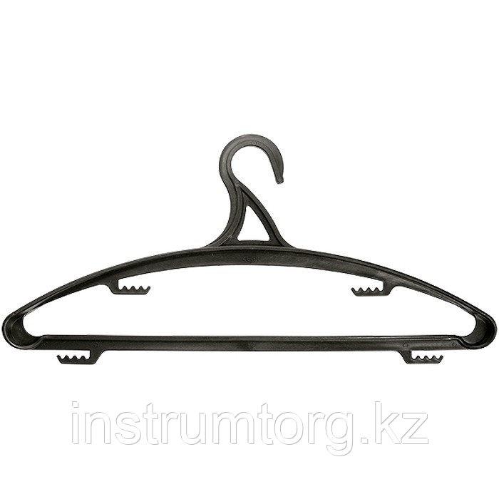 Вешалка пластик. для верхней одежды размер 48-50, 420 мм//ТМ Elfe /Россия