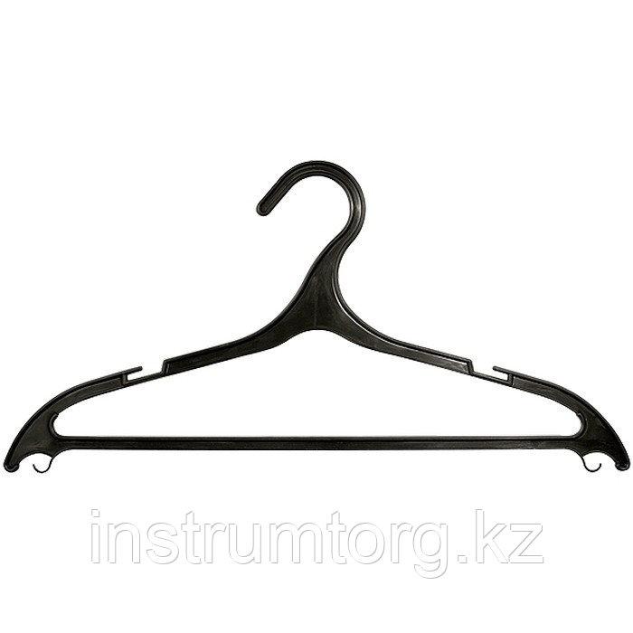 Вешалка пластик. для легкой одежды размер 48-50, 430 мм, Россия// Elfe