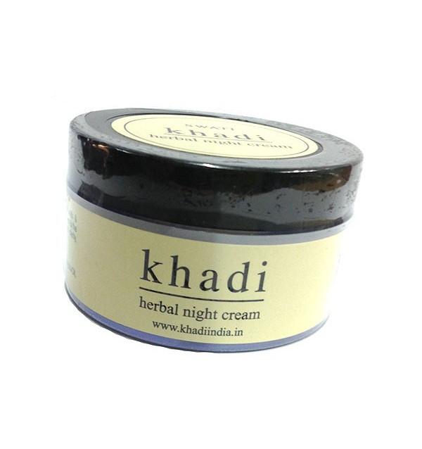"""Ночной крем для лица Khadi """"Herbal Night Cream"""""""