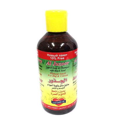 Жидкое мыло-шампунь с черным тмином Al Juzoor, фото 2