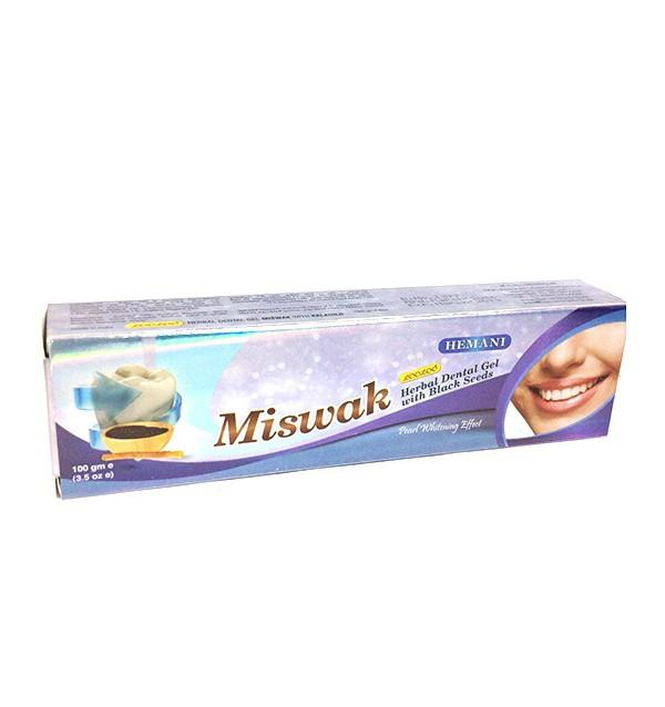 Зубная паста Miswak c черным тмином