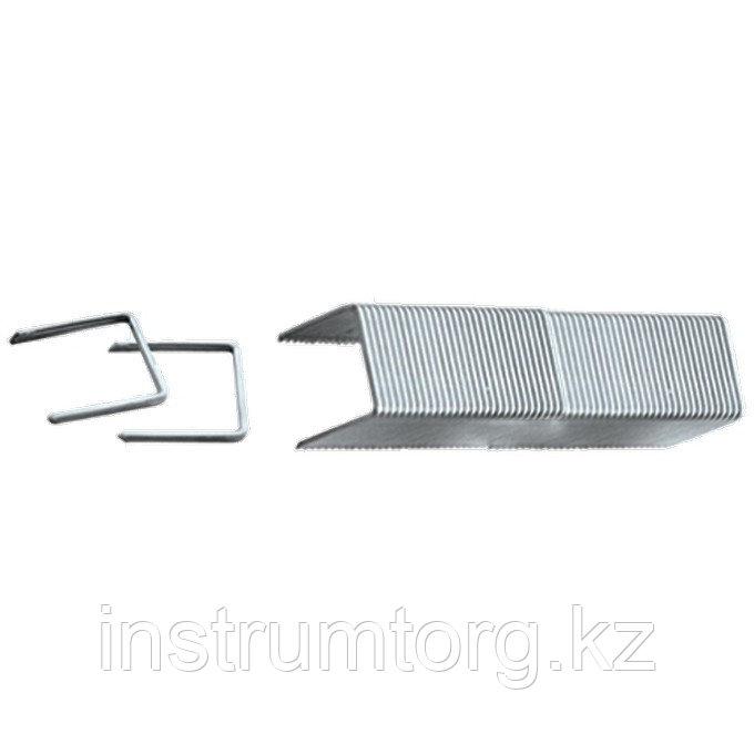 Скобы, 10 мм, для мебельного степлера, заостренные, тип 53, 1000 шт.// Matrix