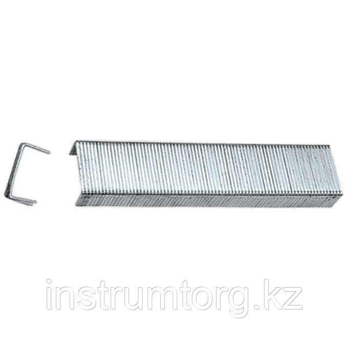 Скобы, 10 мм, для мебельного степлера, закаленные, тип 53, 1000 шт.// Matrix