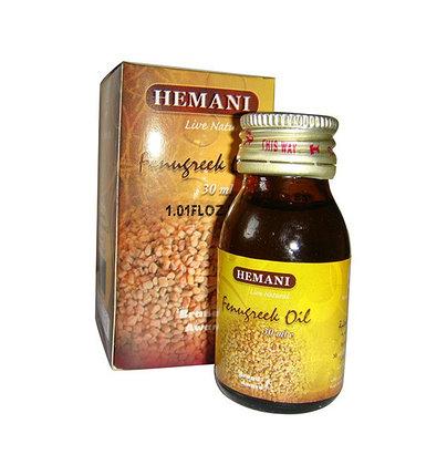 Масло хельбы (хильбы, пажитника) Hemani, фото 2