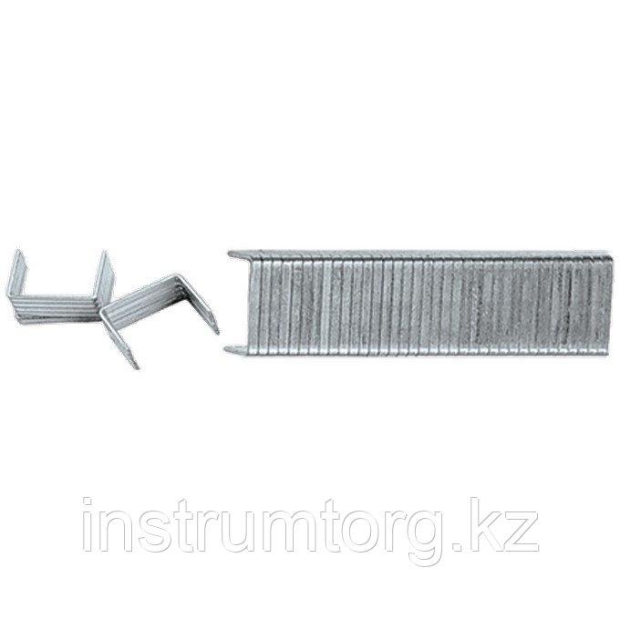 Скобы, 6 мм, для мебельного степлера, закаленные, тип 140, 1000 шт.// Matrix