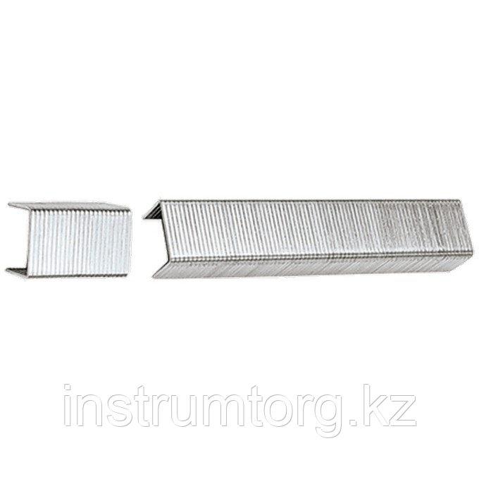 Скобы, 6 мм, для мебельного степлера, тип 53, 1000 шт.// Sparta